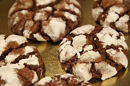 Schokolade - Minze - Kekse 1