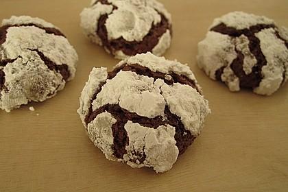 Schokolade - Minze - Kekse 7