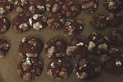 Schokolade - Minze - Kekse 8