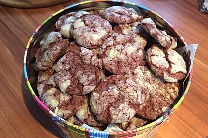 Schokolade - Minze - Kekse 16