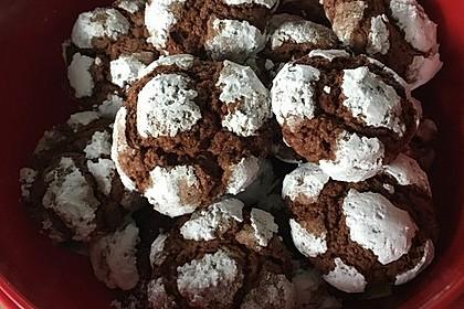 Schokolade - Minze - Kekse 11