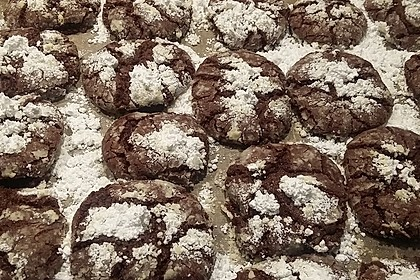 Schokolade - Minze - Kekse 3