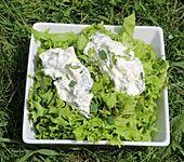 Salat mit Minze - Dressing