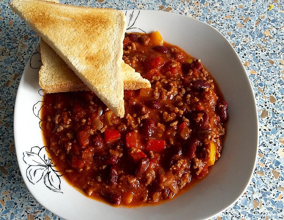 All About Chili Con Carne Receta Kidskunstinfo