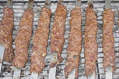 Adana Kebap / Hackfleischspieße 11