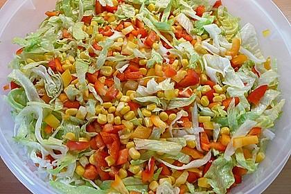 Mexicanischer Schichtsalat 1