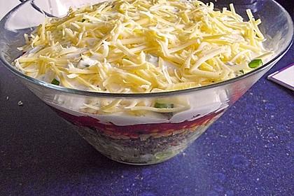 Mexicanischer Schichtsalat 2