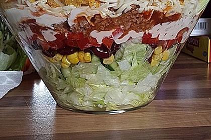 Mexicanischer Schichtsalat 4