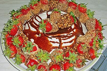 Erdbeeren mit Knusper - Schokohülle 4