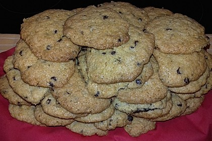 Chocolate Chips Cookies, soft 10