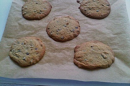 Chocolate Chips Cookies, soft 6