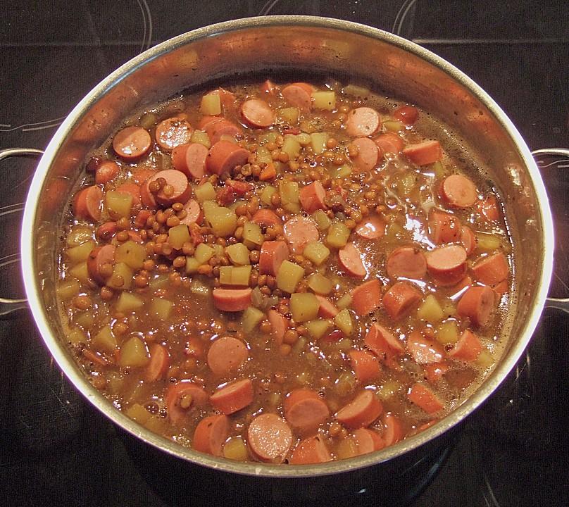 Schnelle Blechkuchen Rezepte Mit Bild: Schnelle Linsensuppe, Campingsuppe (Rezept Mit Bild