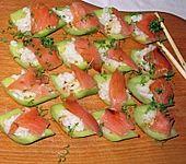 Gurken - Sushi (Bild)