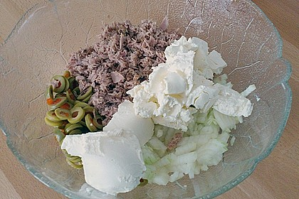 Thunfisch-Oliven-Täschchen 31
