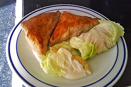 Thunfisch-Oliven-Täschchen 7