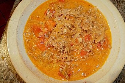 Leichte Sauerkrautsuppe ungarische Art 2