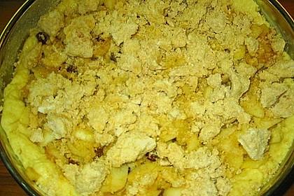 Apfelkuchen mit Rosinen und Zimt 1