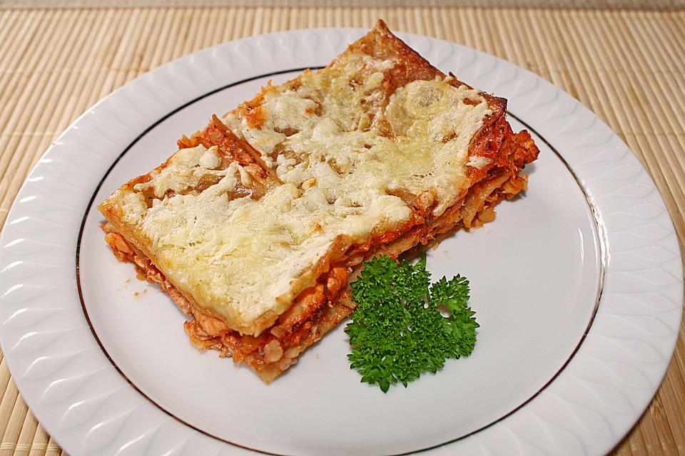 lachs linsen lasagne rezept mit bild von karstenmorf. Black Bedroom Furniture Sets. Home Design Ideas
