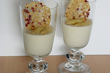 Spargel - Panna Cotta mit Käse - Schinken - Crackern 14