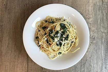 Spaghetti mit Bärlauch 26