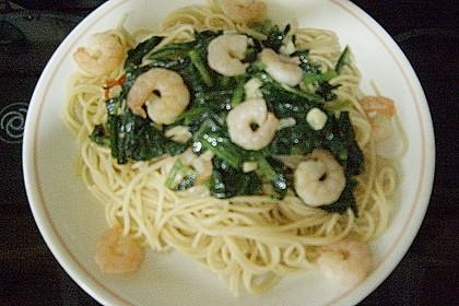 Spaghetti mit Bärlauch 22