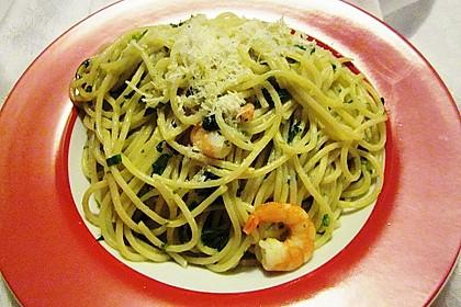 Spaghetti mit Bärlauch 19