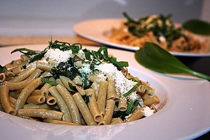 Spaghetti mit Bärlauch 3