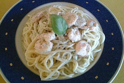 Spaghetti mit Bärlauch 28