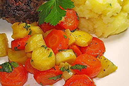 Wurzelpetersilie - Karotten - Gemüse 0