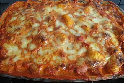 Gnocchi aus dem Ofen in Paprika - Tomaten - Sauce 71
