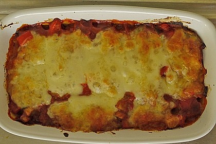 Gnocchi aus dem Ofen in Paprika - Tomaten - Sauce 61