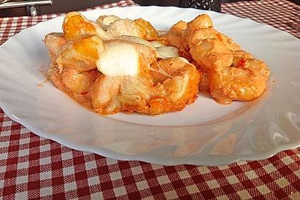 Gnocchi aus dem Ofen in Paprika - Tomaten - Sauce 6