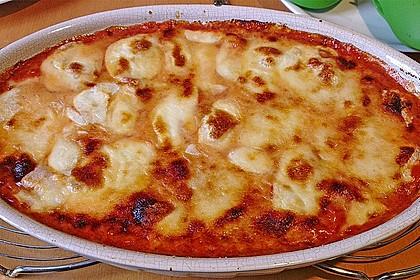 Gnocchi aus dem Ofen in Paprika - Tomaten - Sauce 10