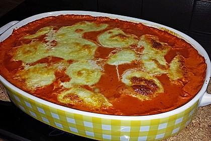 Gnocchi aus dem Ofen in Paprika - Tomaten - Sauce 18
