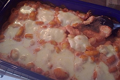 Gnocchi aus dem Ofen in Paprika - Tomaten - Sauce 45
