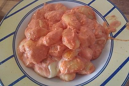 Gnocchi aus dem Ofen in Paprika - Tomaten - Sauce 43