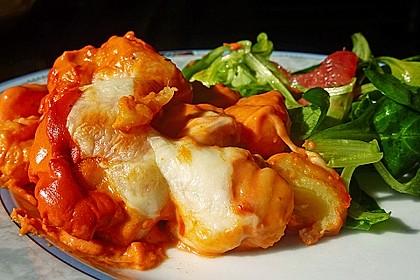 Gnocchi aus dem Ofen in Paprika - Tomaten - Sauce 1