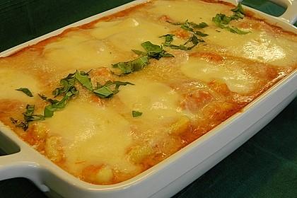 Gnocchi aus dem Ofen in Paprika - Tomaten - Sauce 16