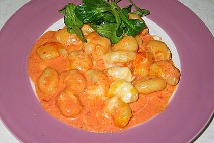Gnocchi aus dem Ofen in Paprika - Tomaten - Sauce 7