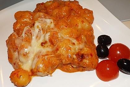 Gnocchi aus dem Ofen in Paprika - Tomaten - Sauce 20
