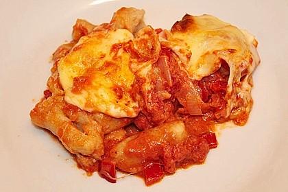 Gnocchi aus dem Ofen in Paprika - Tomaten - Sauce 59