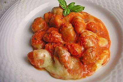 Gnocchi aus dem Ofen in Paprika - Tomaten - Sauce 2
