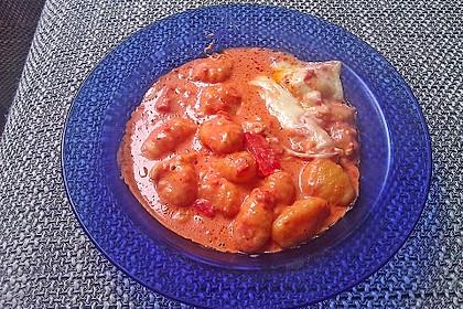 Gnocchi aus dem Ofen in Paprika - Tomaten - Sauce 34