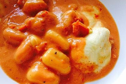 Gnocchi aus dem Ofen in Paprika - Tomaten - Sauce 37
