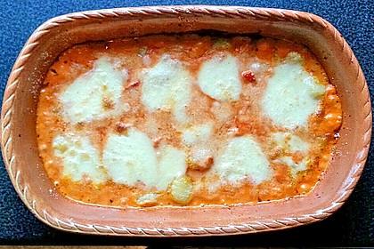 Gnocchi aus dem Ofen in Paprika - Tomaten - Sauce 46