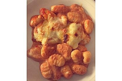 Gnocchi aus dem Ofen in Paprika - Tomaten - Sauce 19