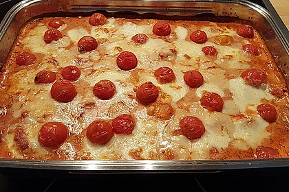 Gnocchi aus dem Ofen in Paprika - Tomaten - Sauce 55