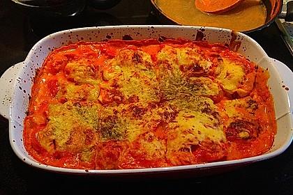 Gnocchi aus dem Ofen in Paprika - Tomaten - Sauce 39