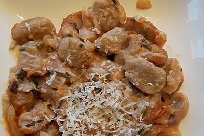 Gnocchi aus dem Ofen in Paprika - Tomaten - Sauce 48