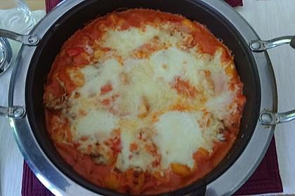 Gnocchi aus dem Ofen in Paprika - Tomaten - Sauce 52